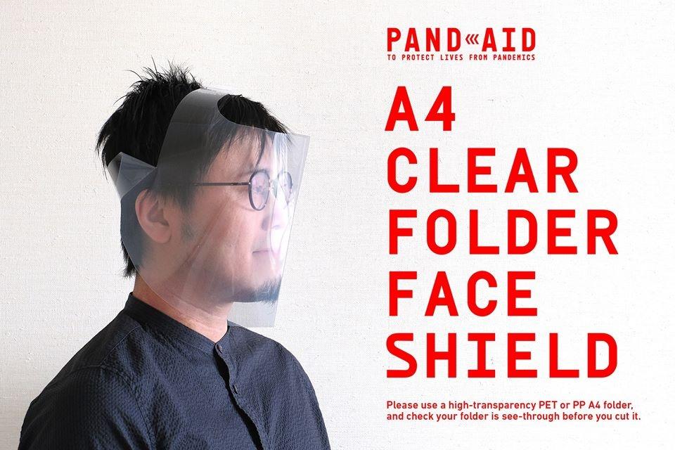 支援前線醫護 日本設計師發明可自製Folder面罩